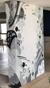 graffit, edmx, spray art, interior design, street art, characters, pictoplasma, arte, art, decoracao, decoração de interiores
