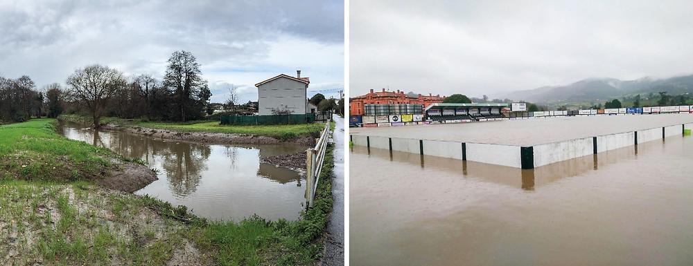 Inundaciones en Asturias en 2018