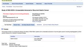 Opdivo有望成為胃癌的治療藥之一