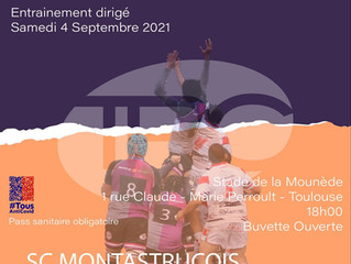💜🖤 MATCH AMICAL 2021-2022 #TRC15 💜🖤