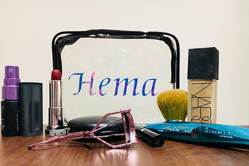 Personalised Makeup Bag