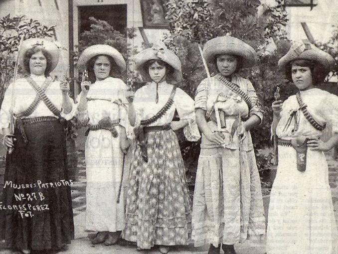 mujeres de la revolucion
