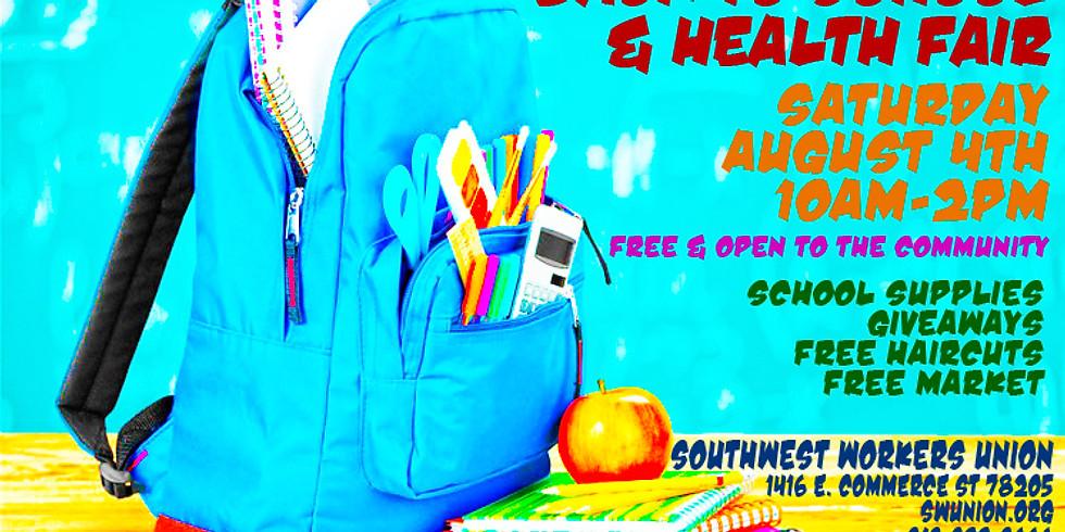 Back to School & Health Fair