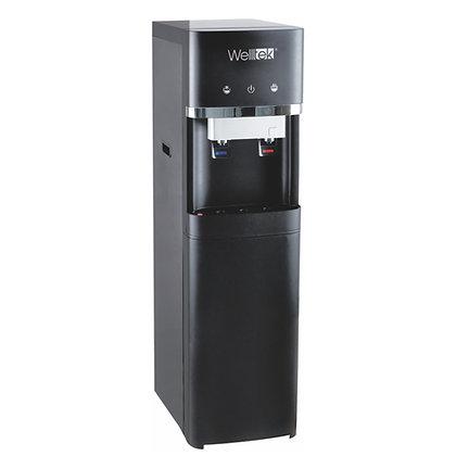 Dispensador de agua WELLTEK, con filtro, agua fria y caliente