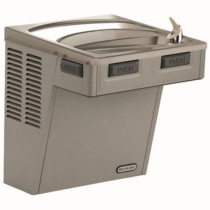 Bebedero de pared Elkay ADA con filtro y enfriamiento, gris claro LMABF8