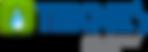 Logo teknes con elkay sobre fondo blanco