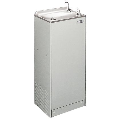 Bebedero de piso Elkay sin filtro con enfriamiento 8 GHP gris claro EFA8L1Z