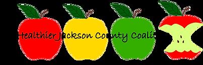 Healthier Jackson County Coalition logo.