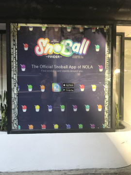 Are Sno Cones really that much of a thing in NOLA that you need an app?