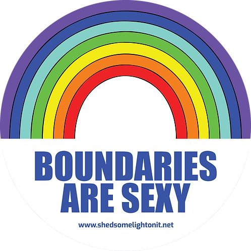 Boundaries are Sexy affirmation sticker