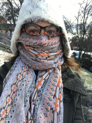 Nah!  I'm not cold.