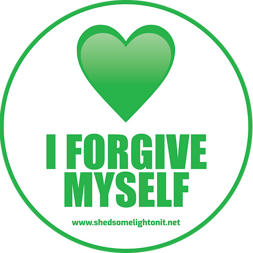 Heart Chakra affirmation sticker