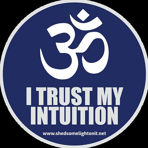 Third Eye Chakra affirmation sticker