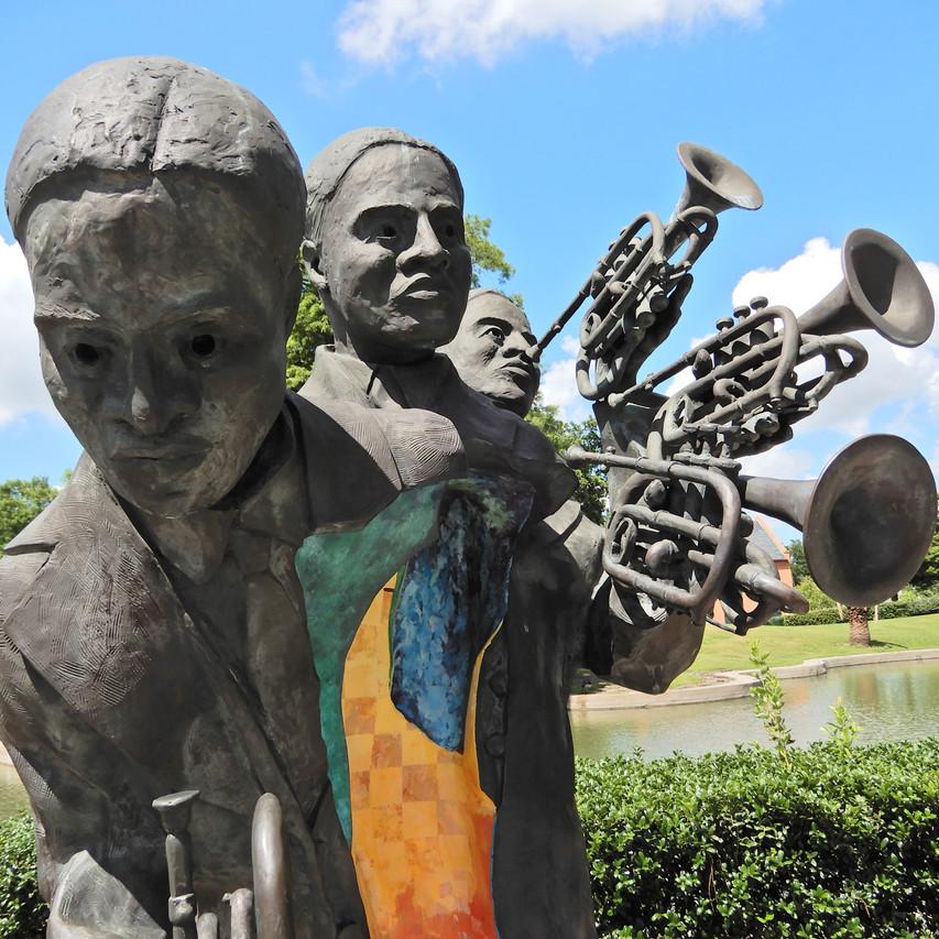 Louis Armstrong park NOLA