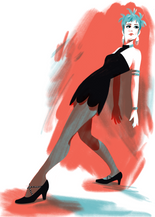 Illustration from 'Sweet Charity' movie version