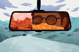 Editorial illustration for SF Gate (Hearst)