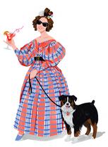 Portrait illustration of Abby Cox