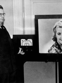 John Baird's demonstration of colour television transmission