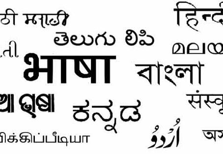समाज के कण-कण में भाषा,  भाषा में झलकता है समाज