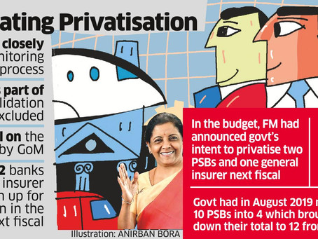 Is privatisation of banks the solution to its malaise?