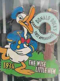 First appearance of Donald Duck