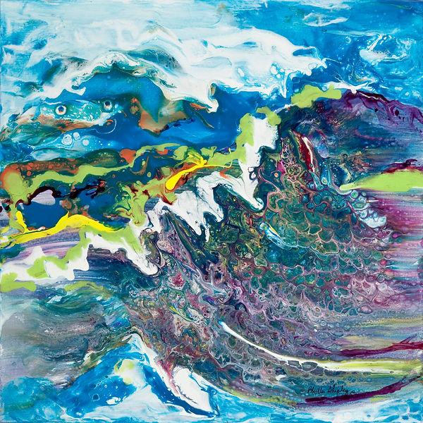 RIDE THE WAVE 20x20 Acrylic on Canvas.jpg