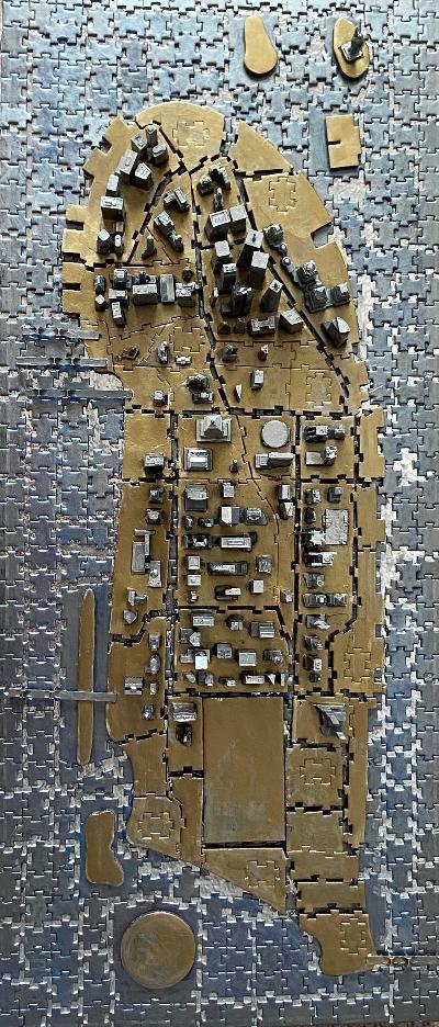 'Puzzle serial #3, Manhattan ' Mixed Media 30 x 20.jpg