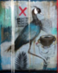 RECUERDO DE CARMEN mixta sobre tela 150x