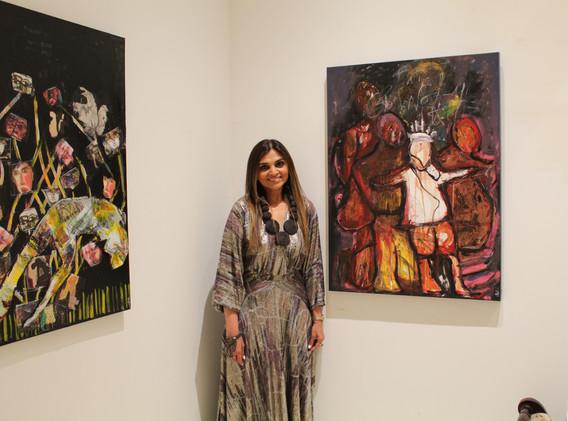 Extending Chelsea magical cheers is the International Artist, Sweta Shah