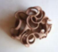DESERT ROSE, clay burned, 30 x 40 x 25 c