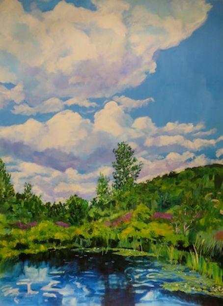 Higher Love, Acrylic on Canvas, 48 x 36.