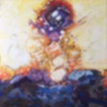 1. Anin A'Nai, Acrylic and colored marke