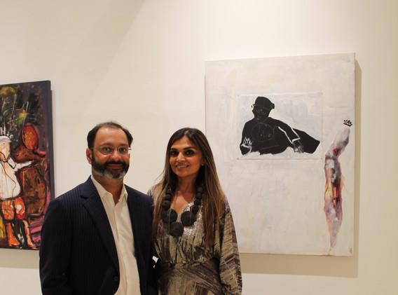 International Globalite, Sweta Shah and husband pay homage to VP Kamala Harris