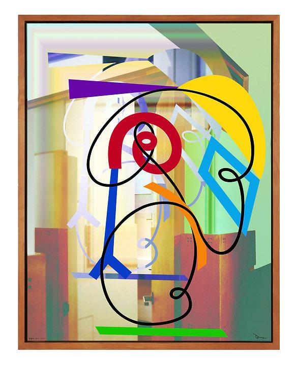 UGO Epson 9880 Archival Print on Canvas