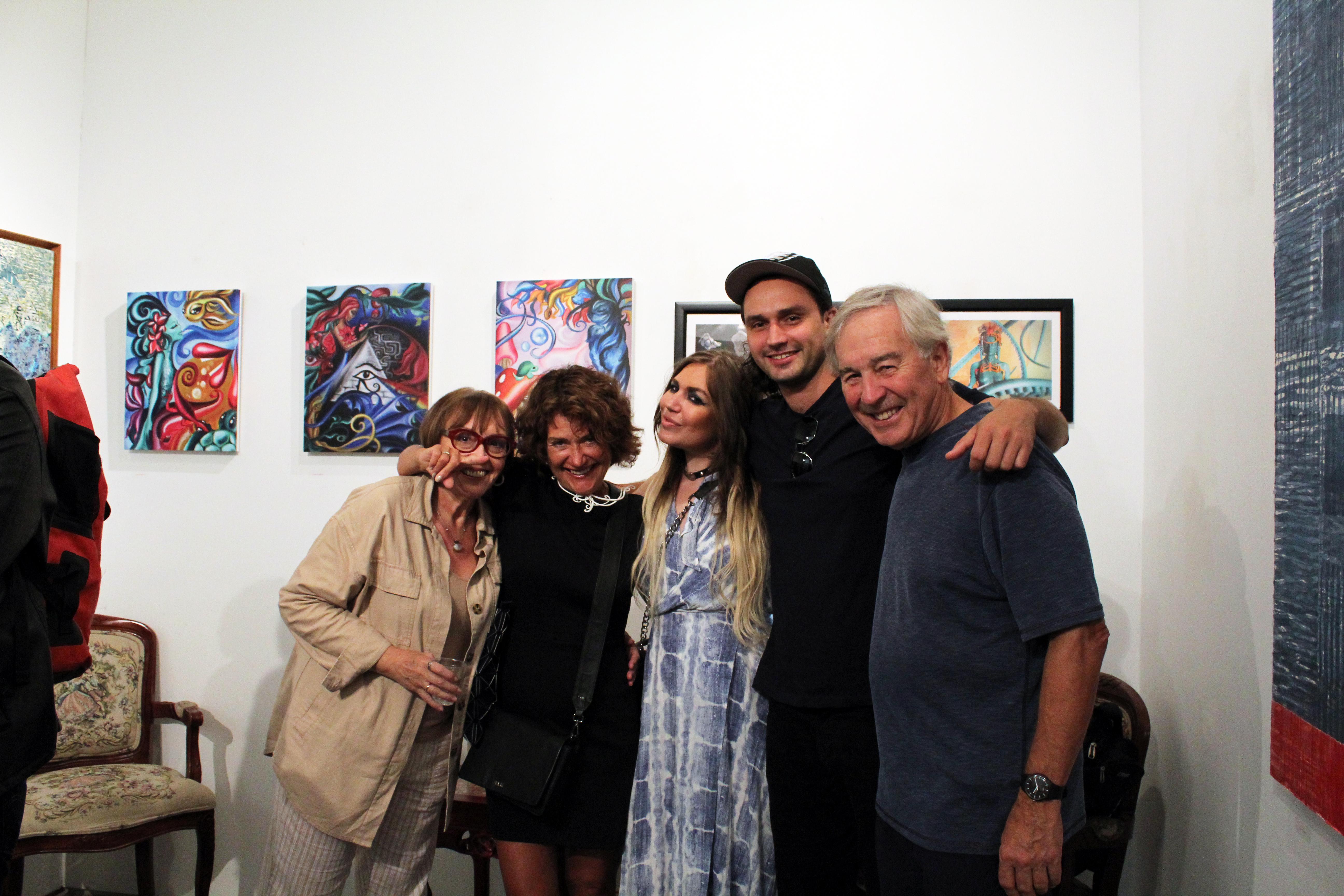 Ashley Morgan and guests