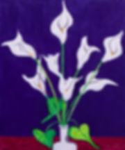 Peaceful Lilies Oil on Canvas 24x20.jpg