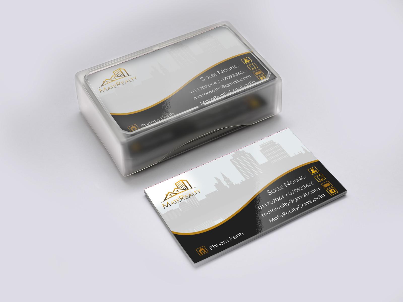 business card design hotel search phnom penh