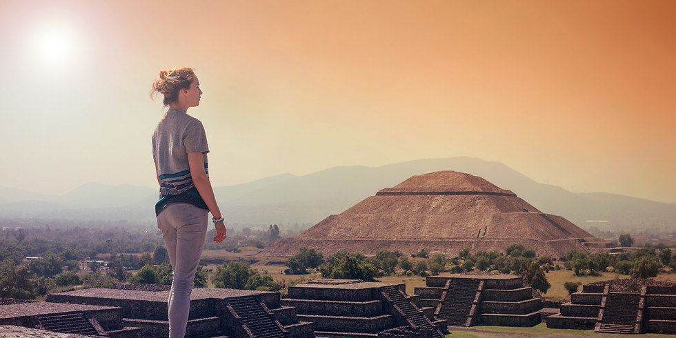 Women's Sacred Journey to Teotihuacan Mexico