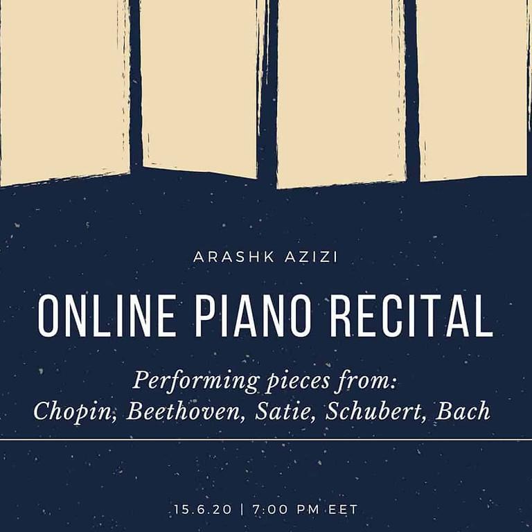 Online Piano Recital