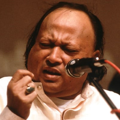 This Wednesday's artist is Nusrat Fateh Ali Khan (13 October 1948 - 16 August 1997). He was and is one of the most important musical figures in Pakistan and the middle east. He was mainly a vocalist of Qawwali, a form of Sufi Islamic music.