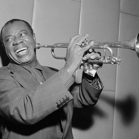 Wednesday's Artist: Louis Armstrong The Jazz trumpeter