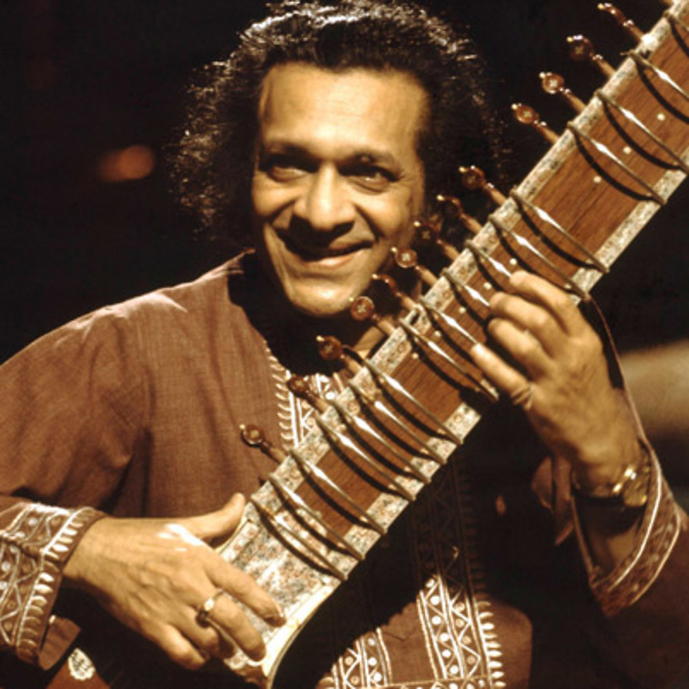 This Wednesday's artist is Ravi Shankar, the sitar maestro. He has born on Aril 7th, 1920 and died on December 11th, 2012 at the age of 92. His repertoire mostly consists of Indian classical music.