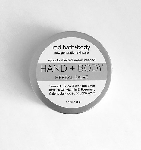 HAND + BODY HERBAL SALVE
