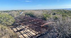 Metal frame of 2 story barndominium.jpg