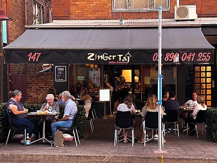 zingger taj authentic indian restaurant.