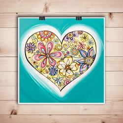 """Love Is..."" art print"