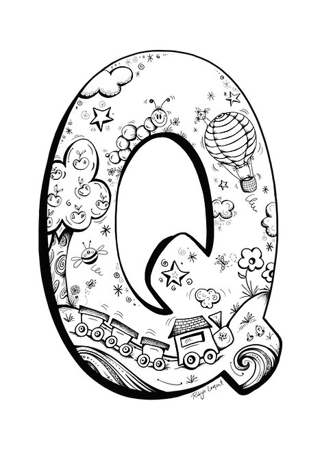 'The Letter Q - Digital Download