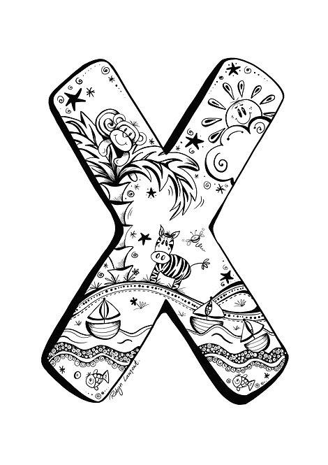 'The Letter X' - Digital Download