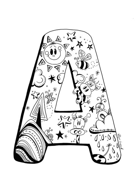 'The Letter A' - Digital Download