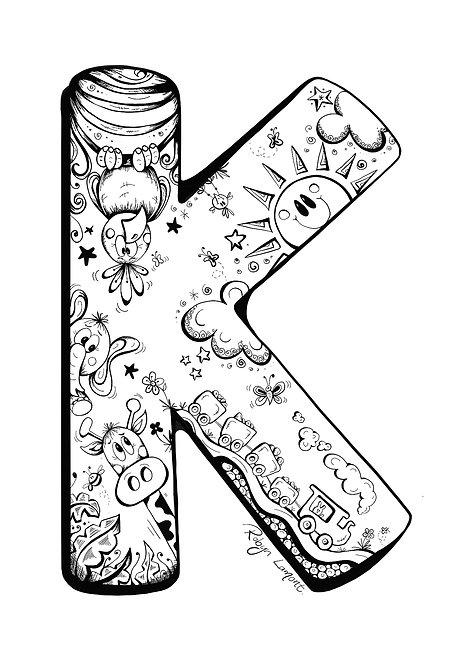 'The Letter K' - Digital Download